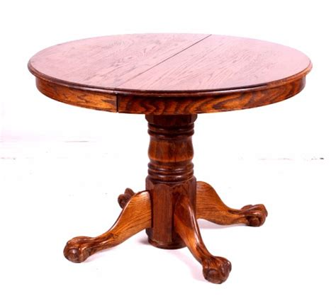 and claw table oak claw table w pressed back chairs