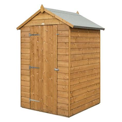 rowlinson modular shiplap apex shed  garden street