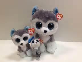 ty 3 slush husky beanie boos mint tags ready winter fun ebay