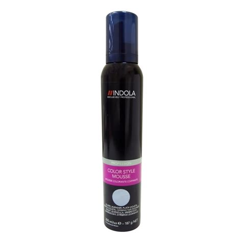 hair color mousse indola colour mousse silver lavender