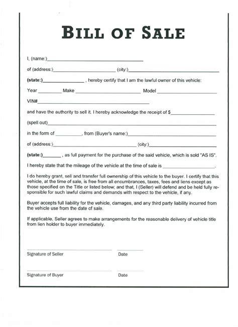 Download North Carolina Vehicle Bill Of Sale For Free Formtemplate Bill Of Sale Form Nc Template