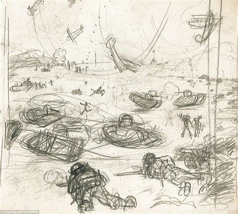 E H Shepard Sketches by Wwi Sketches By Winnie The Pooh Illustrator E H Shepard