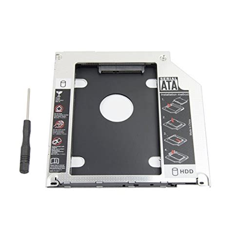 Caddy Macbook Pro 13 15 17 Superdrive Ssd Hdd Caddy 95mm 1 2nd 2 5 sata hdd ssd drive disk dvd cd rom optical superdrive caddy tray adapter for
