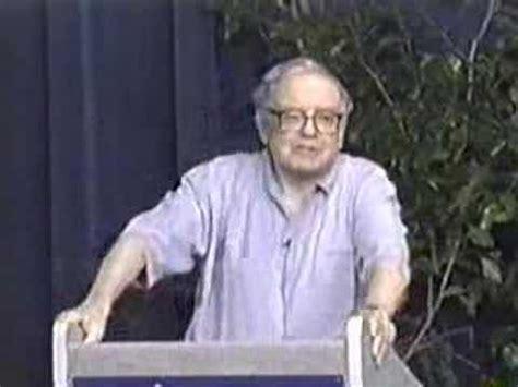 Warren Buffett On Mba by Warren Buffett Mba Talk Part 10