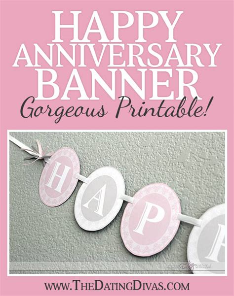 Happy Anniversary Banner Happy Anniversary Banner Template