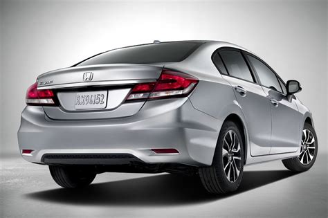 honda civic updated 2013 honda civic sedan photos and details
