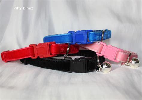 luxury collars luxury velvet handmade cat kitten safety collars