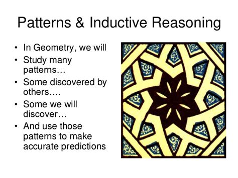 pattern of use definition geometry 1 1 patterns and inductive reasoning
