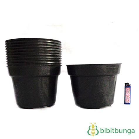 Harga Pot Anggrek Plastik pot plastik hitam 216 20 cm bibitbunga