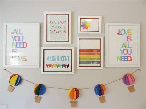 Gallery Roundup Rainbow Project Nursery Gallery Roundup Gallery Walls Project Nursery