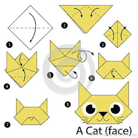 Origami Chat - comment faire le chat en origami
