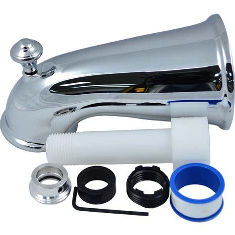 bathtub nozzle partsmasterpro 6 in elegant tub spout with front diverter