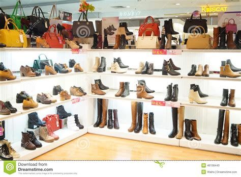 s shoes are sold in the store display editorial