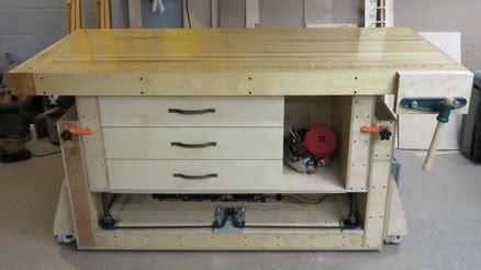 ultimate woodworking bench the ultimate modern woodworking workbench by dirk van essendelft lumberjocks com