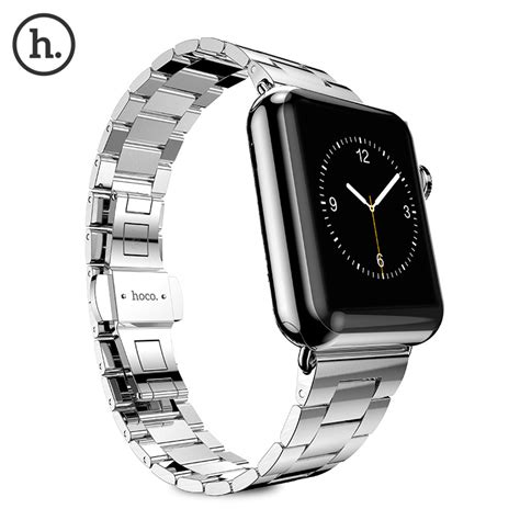 Mgslimfit Style Stainless Steel Band For Apple 38mm Ho T1310 hoco slimfit style stainless steel band for apple