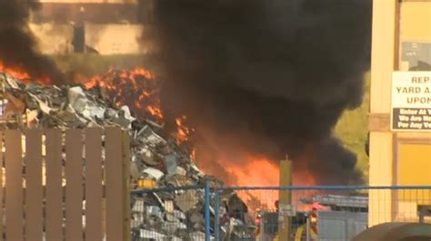 haircut ogden calgary firefighters extinguish scrapyard fire on ogden road ctv