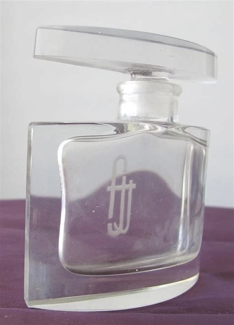Letter Perfume quality perfume bottle etched letters time in a bottle