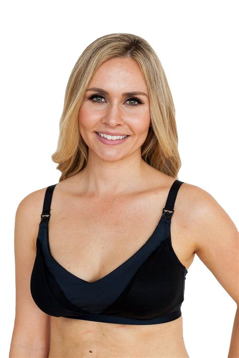 Simple Wishes Free Pumping Bra Black simple wishes everyday all in one nursing and