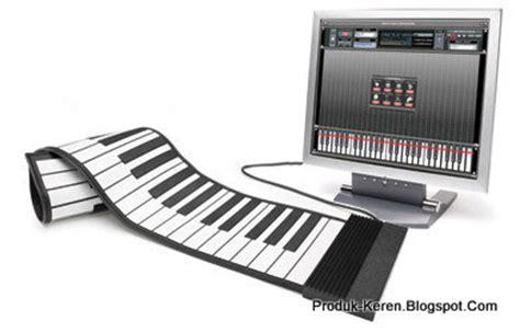 Keyboard Komputer Gulung keyboard musik midi yang bisa digulung produk keren