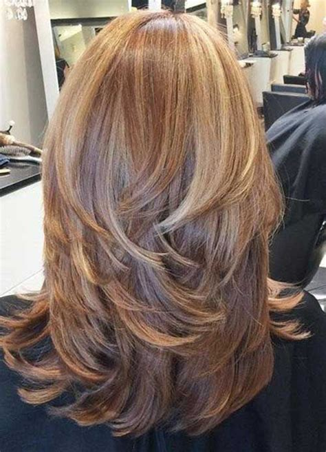 back views of long layer styles for medium length hair best 25 layered haircuts ideas on pinterest layered