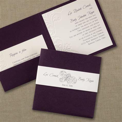 Carlson Craft Wedding Invitations by Carlson Craft Wedding Invitations Stationery Hyegraph