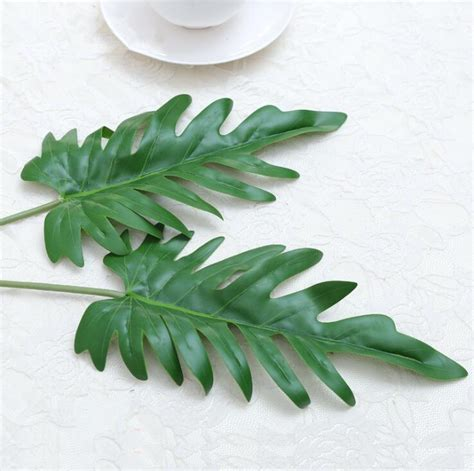 Online Buy Wholesale artificial palm leaves from China