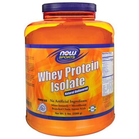 Now Whey Protein Isolate now foods sports whey protein isolate