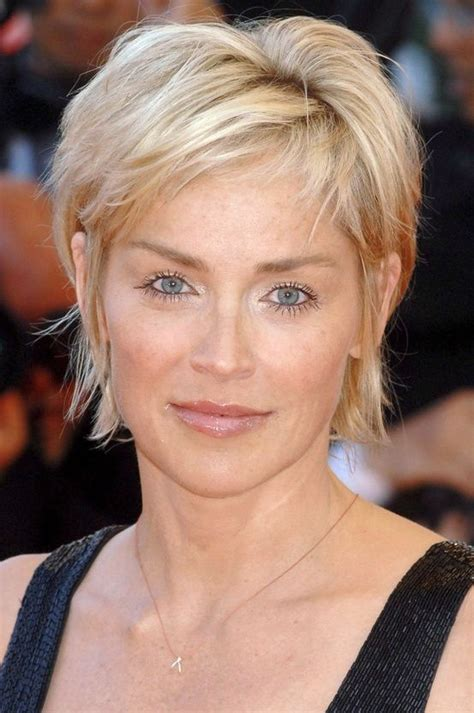 hairstyles for mid fortys sharon stone back short hairstyles best medium hairstyle
