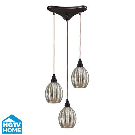 Three Light Pendant Elk Lighting 46007 3 Danica 3 Light Multi Pendant Ceiling Fixture