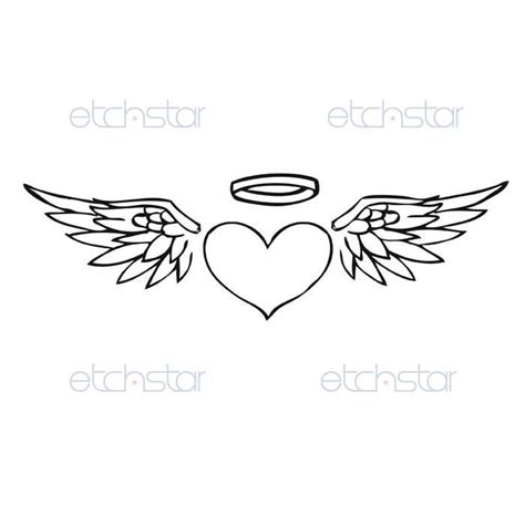 heart with wings tattoo design inspiration dancamacho design design like