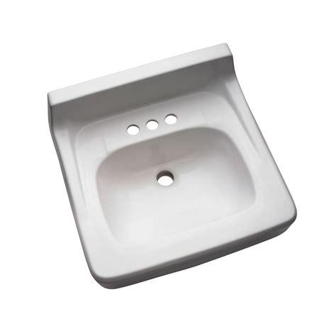 crane wall mount sink shop crane plumbing harwich white wall mount rectangular