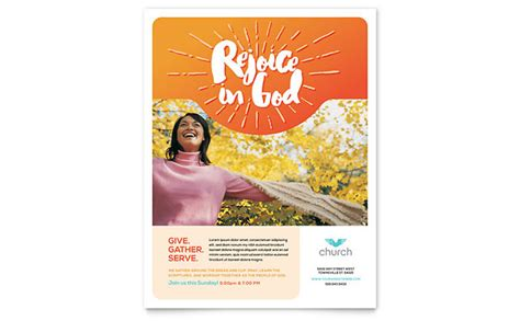 Church Flyer Template Word Publisher Church Brochure Template Publisher