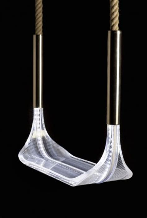 swing designer outdoor led swing
