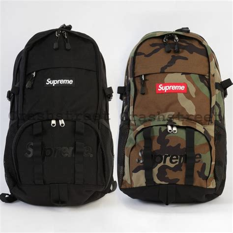 supreme backpack supreme ss15 box logo backpack ebay