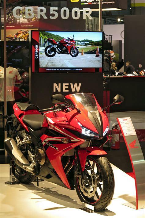 Honda Motorrad Treffen 2017 by Honda Auf Der Eicma 2015 Treffen Touren Messen Urlaub