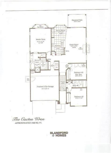 cool blandford homes floor plans new home plans design