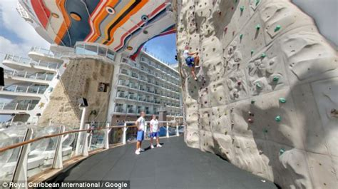 rock the boat ice nine google street view shows interior of world s largest