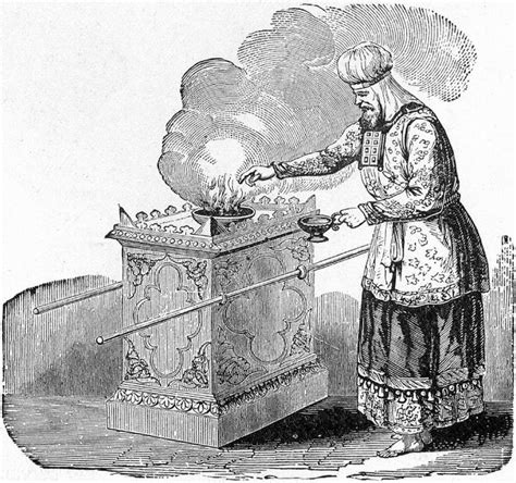 profane at the altar of the lord books file high priest offering incense on the altar jpg