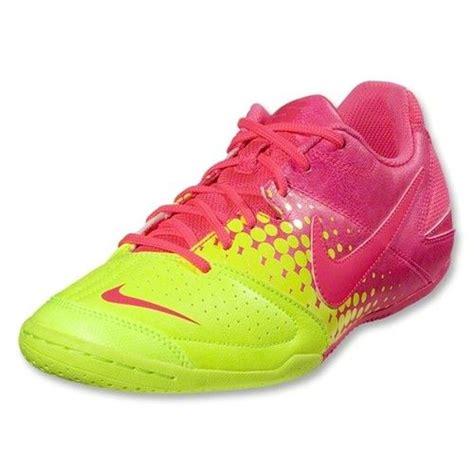 nike jr nike5 elastico indoor soccer shoe volt pink flash