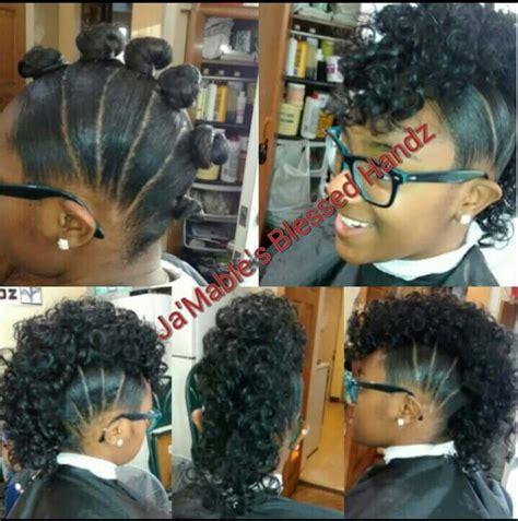 natural ponytail mohawk mohawk its the hair pinterest mohawks hair