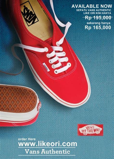 Normal Sepatu Vans likeori sepatu vans authentic promosi