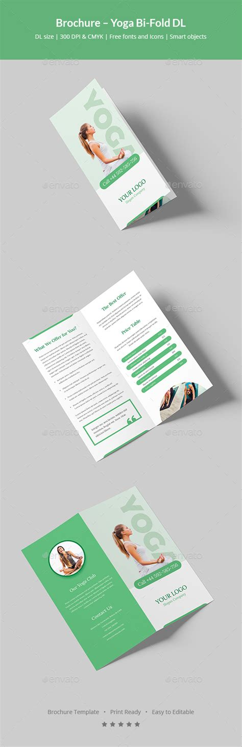 dl brochure template brochure bi fold dl by artbart graphicriver