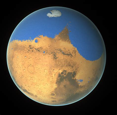 Flight From The Water Planet mars loses an but gains the potential for