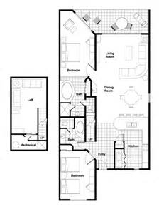 2 Bedroom Loft Floor Plans by Accommodations Westgate Vacation Villas Resort Amp Spa