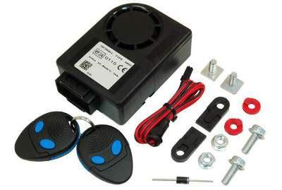 spyball motorcycle alarms bike security  wheel