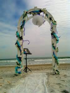 Beach Wedding Arch Wedding Arch Best Beach Wedding Guides For Florida