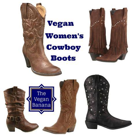 vegan cowboy boots vegan s cowboy boots the vegan banana