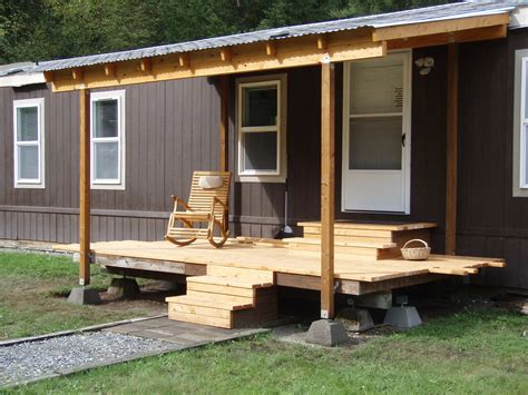 interior designs for mobile homes homesfeed front porch designs for mobile homes homesfeed with image