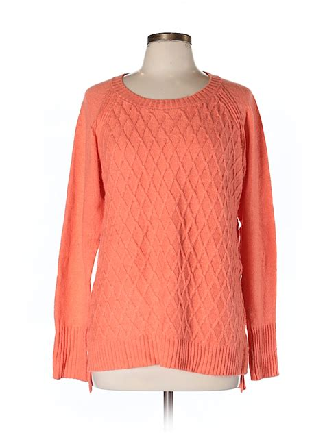 Sweater Jumbo 1968 Jc jcpenney solid coral pullover sweater size l 70 thredup