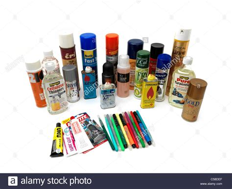 what are household products household products inhalants stockfotos household products inhalants bilder alamy